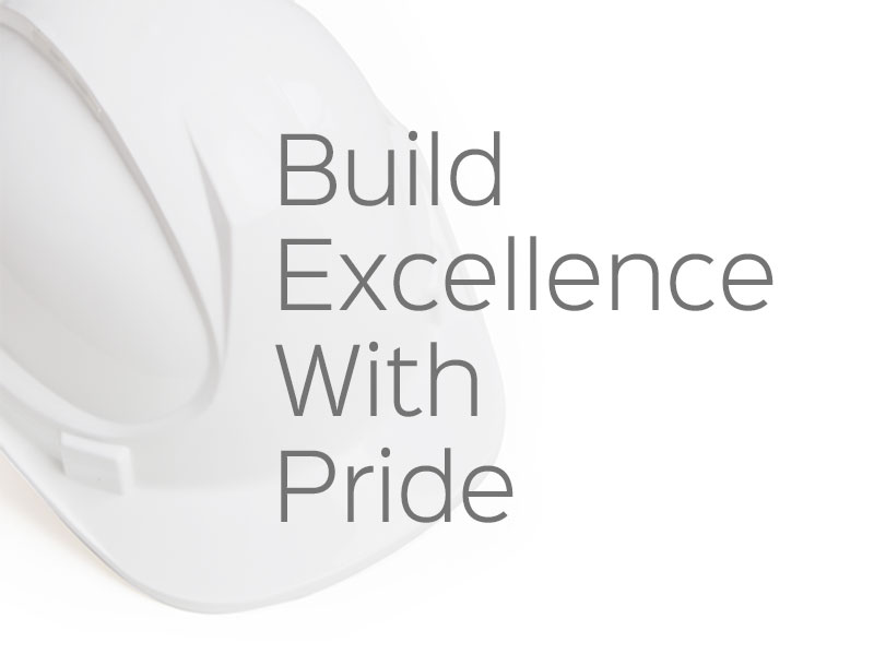 Build Excellence with Pride